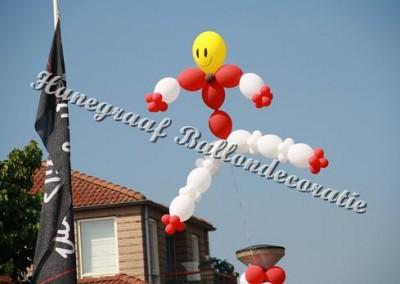 13)standaard helium poppetje € 30,00