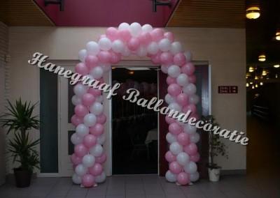 2) ballonnenboog voor enkele deur €80,00