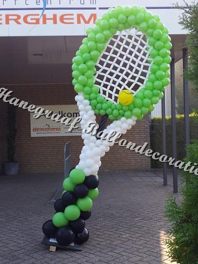 4) Tennisracket ( op aanvraag)