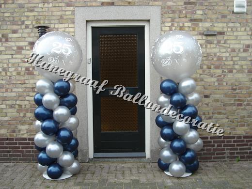 decoratie 25 jaar getrouwd Jubileum · Hanegraaf decoratie 25 jaar getrouwd