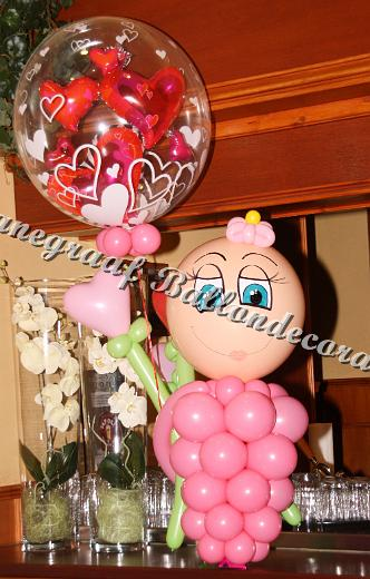 26) het roze meisje (ong. 70cm) €25,00