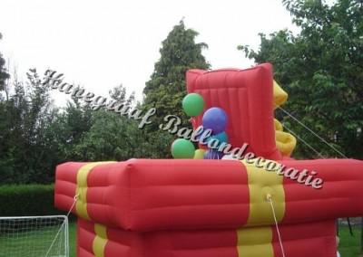 1) ballonnenbox € 25,00 bij 150 helium ballonen
