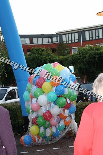3) Release Net gratis bij afnamen van 150 ballonen
