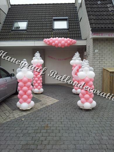 10)babyflessen decoratie €135,00