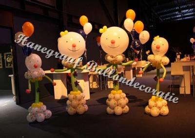 10) blumpkes clowntjes groot en klein samen € 130,00