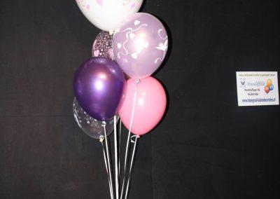14) paars en rose (16 inch. en 12 inch) € 15,00