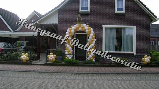 Fabulous versiering 50 jarige bruiloft wq 03 blessingbox for Gouden bruiloft versiering