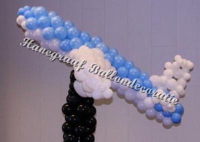14) ballonnen vliegtuig ( op aanvraag)