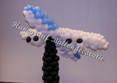 13) ballonnen vliegtuig ( op aanvraag)
