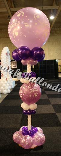 34) gespietste ballon €55,00