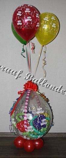 31) stuffer met helium ballonnen ( op aanvraag)