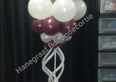20) robijnrood met modeleer ballonnen (1.7m) €25,00