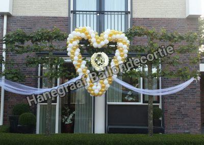 13)groot ballonnen hart tule €80,00