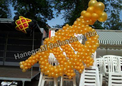 6) ballonnen trompet ( op aanvraag)