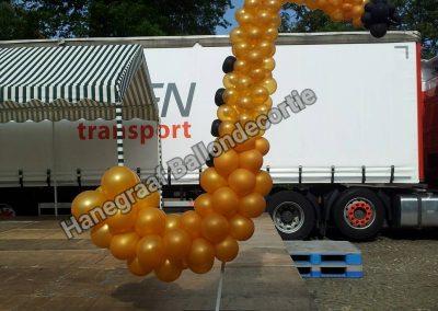 8) ballonnen saxofoon ( op aanvraag)