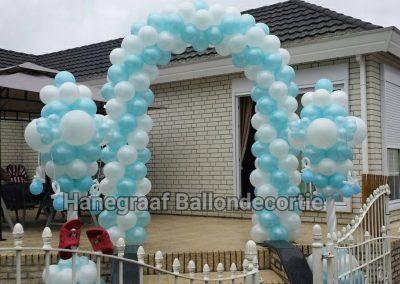 4) ballonnenboog €80,00 ballonnen speentjes molentjes €35,00