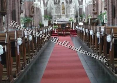 65)hartjes decoratie in de kerk
