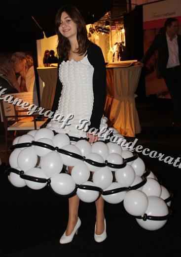 10) jurk van ballonnen ( op aanvraag)