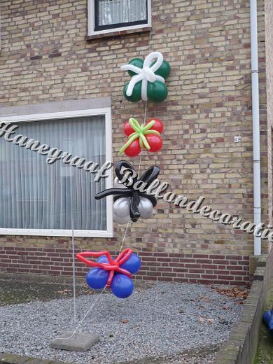 41) ballonnen kadootjes ( op aanvraag)