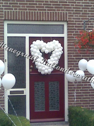 60) klein hartje voor op de deur €35,00